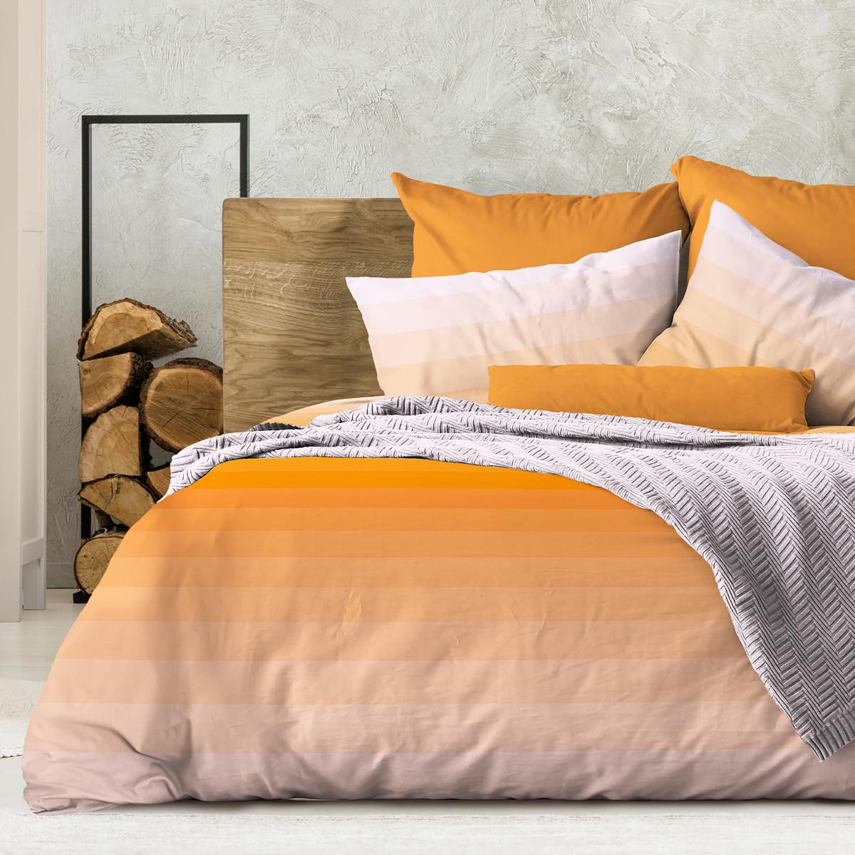 Wenge Комплект постельного белья Flow Orange, WENGE  1.5 спальный(наволочки 70х70) ,