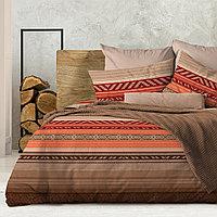 Wenge Комплект постельного белья  Dakar.  WENGE, 2 спальный евро (наволочки 70х70),