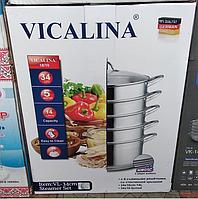 Мантоварка (пароварка) из нержавеющей стали Vicalina 16л 36см
