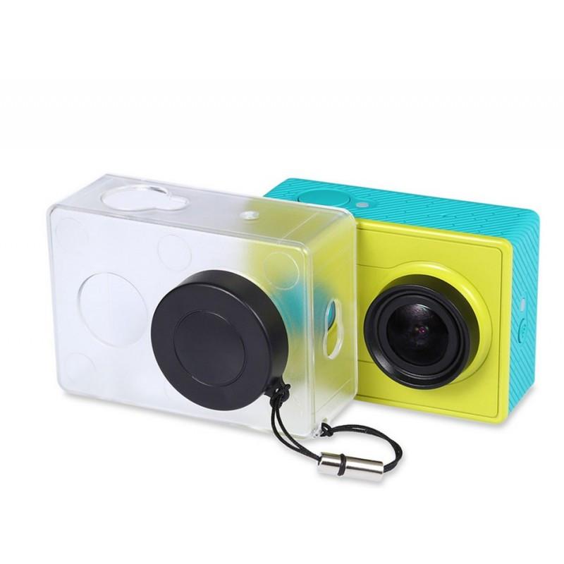 Пластиковый прозрачный чехол для Xiaomi Yi Action Camera оригинал. Арт 3966