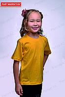 Детская футболка. Желтый.