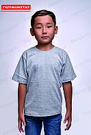 Детская футболка. Меланж.