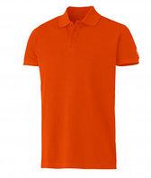Футболки- поло Оранжевого цвета