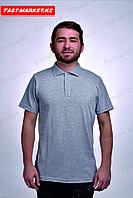 Рубашка - поло меланж