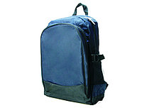 Cпортивный рюкзак с большим карманом синий