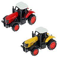 Игрушка трактор 1:72 Die Cast Metall