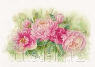 """Набор для вышивания крестом """"Bouquet of peonies"""""""
