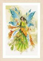 """Набор для вышивания крестом """"Fantasy elf fairy"""""""