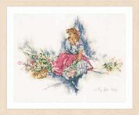 """Набор для вышивания крестом """"My fair lady """""""