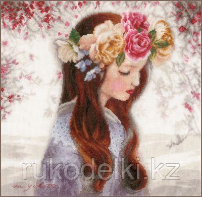"""Набор для вышивания крестом """"The Day when Flowers"""""""