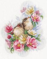"""Набор для вышивания крестом """"Flower branch guardians"""""""