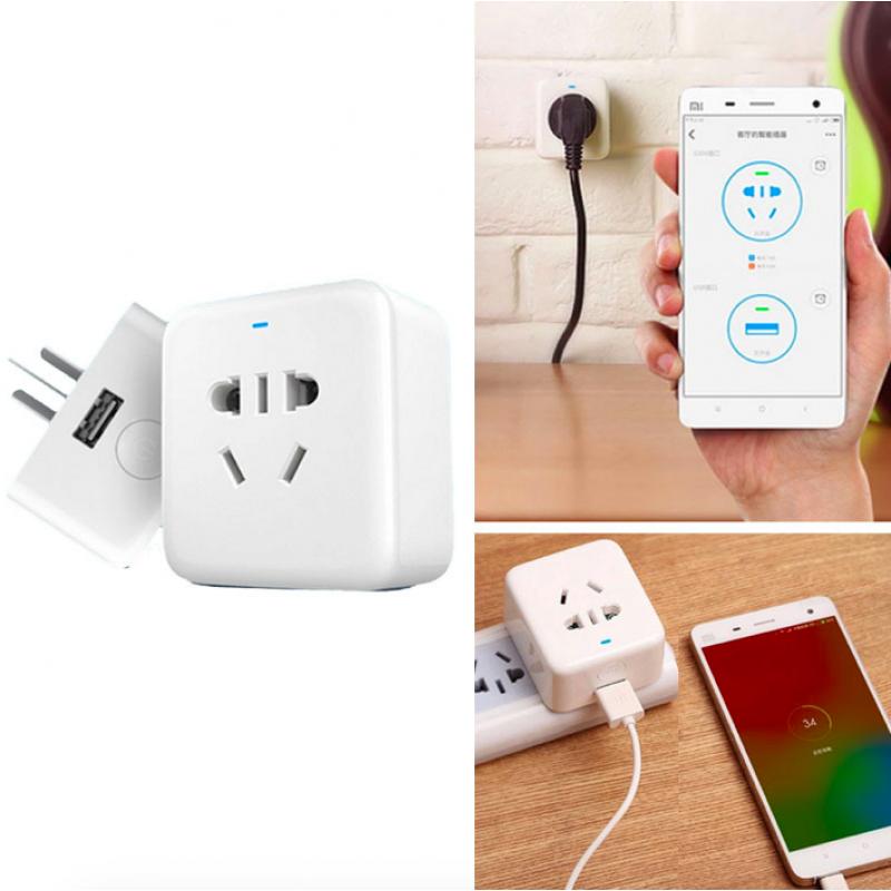 Xiaomi Smart Socket, Mi Smart Power Plug оригинал, умная беспроводная Wifi розетка. Арт 4135