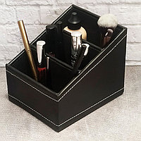 Органайзер для хранения косметики и мелочей универсальный 160*130*130 mm черный