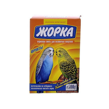 Жорка Корм для волнистых попугаев Фрукты