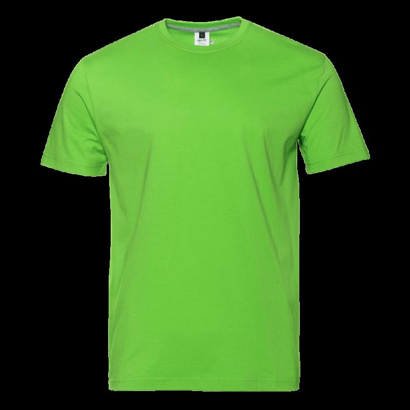 Футболка 02_Ярко-зелёный (26/1) (S/46)