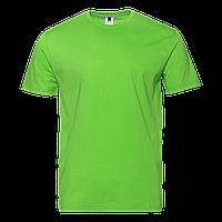 Футболка 02_Ярко-зелёный (26/1) (M/48)