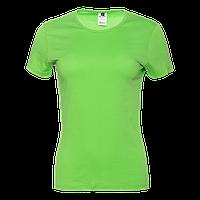 Футболка 02W_Ярко-зелёный (26/1) (S/44)