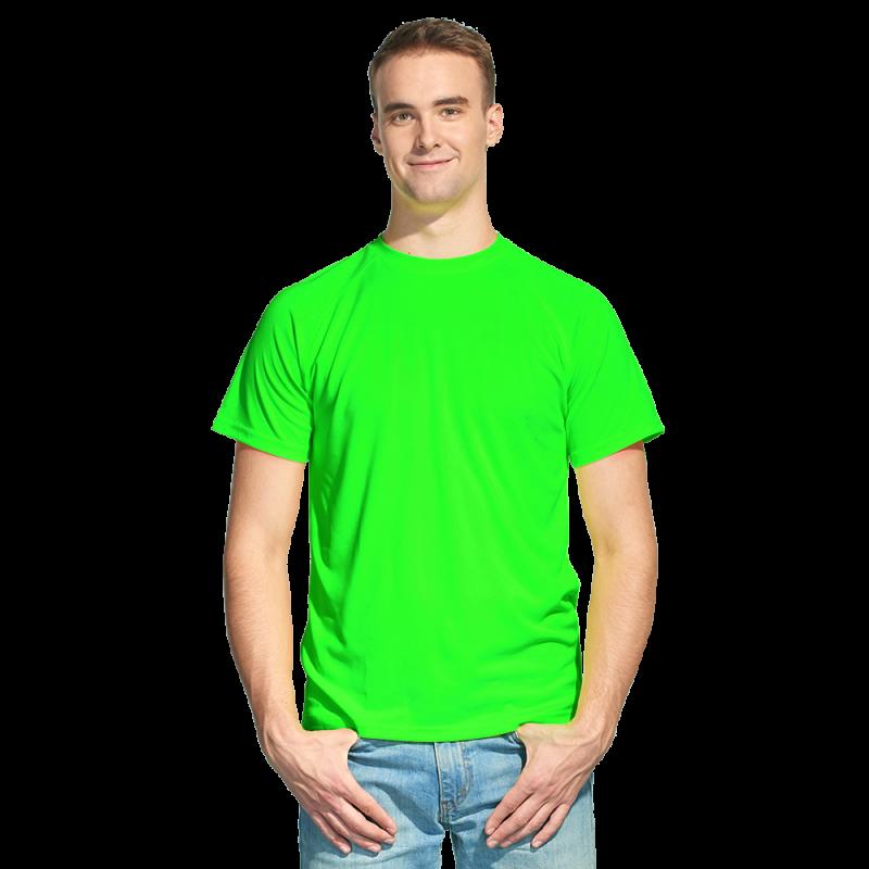 Футболка 30_Ярко-зелёный неон (126) (14 лет)