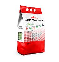 ECO-Premium Зеленый чай наполнитель комкующий древесный 7,6 кг 20 литров