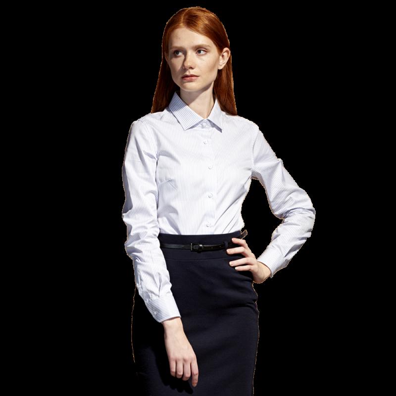 Сорочка 46W_Полоска бело-серая (172) (XL/50)