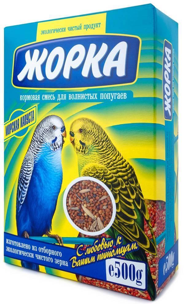 Жорка Корм для волнистых попугаев Морская капуста