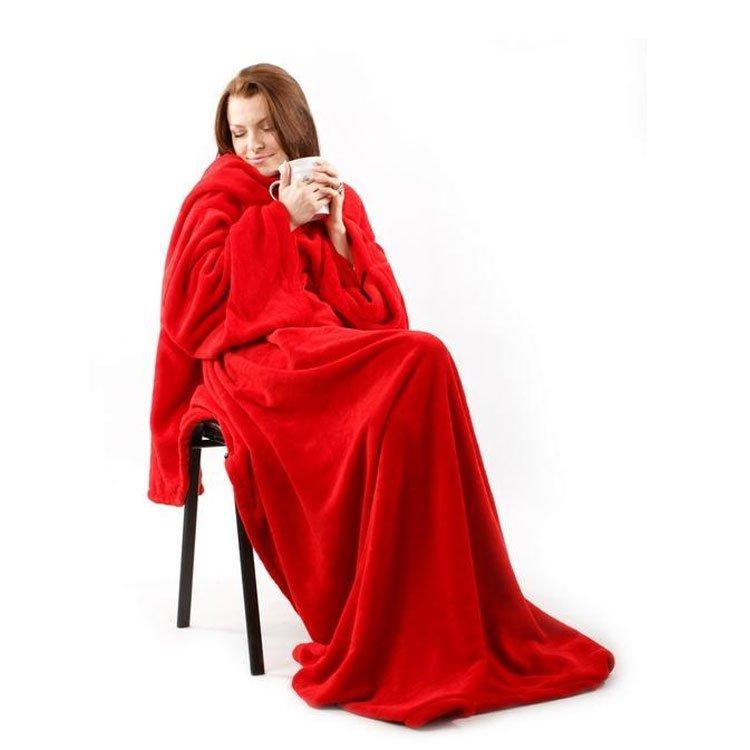 Плед с рукавами Snuggie Blanket Ликвидация зимних товаров!