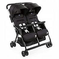 Детская коляска для близнецов Chicco Ohlala Twin Black Night