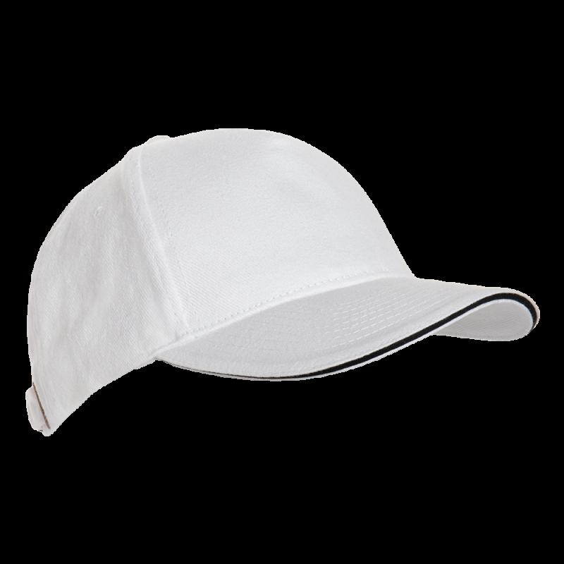 Бейсболка 11K_Белый (10) (56-58)