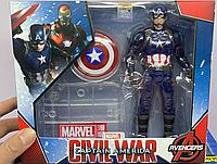Игровая фигурка Капитан Америка Marvel с подвижными соединениями
