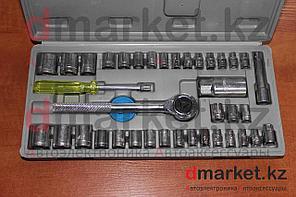 Набор головок с трещоткой DM-041, 40 предметов