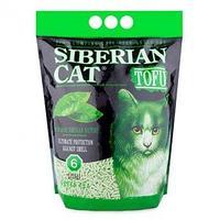 Сибирская Кошка Тофу Зеленый чай наполнитель комкующий 12 литров