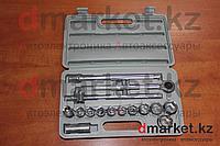 Набор головок с трещоткой DM-017, 17 предметов, фото 1