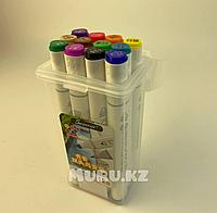 Touch Маркер Superior MS 12 цветов Оригинал профессиональные для скетчинга