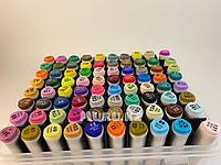 Touch Маркер Superior 80 цветов Оригинал профессиональные для скетчинга