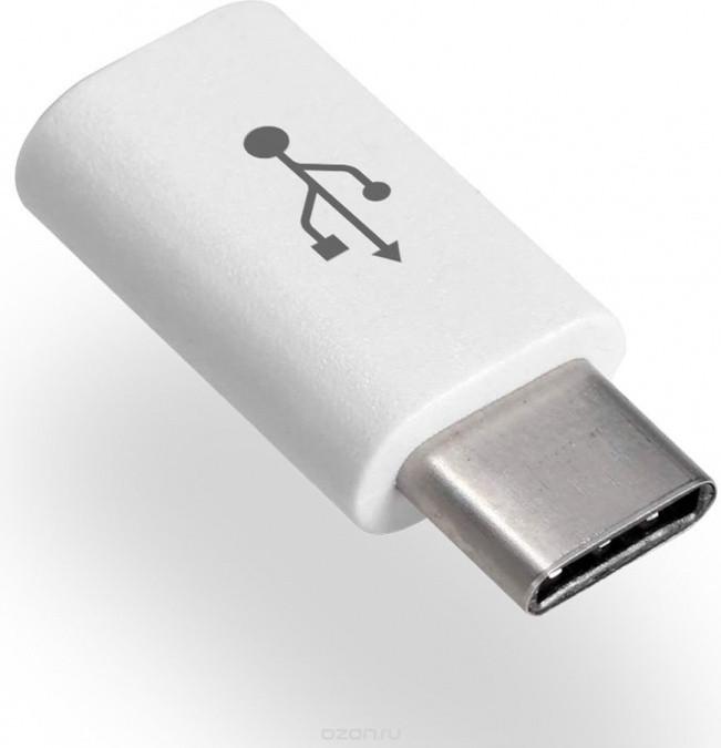 Переходник OLMIO microUSB to USB-C,