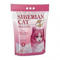 Сибирская Кошка Элитный наполнитель силикагелевый для привередливых кошек 8 литров