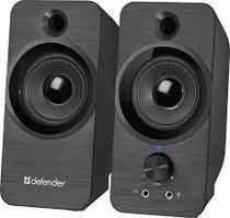 Компактная акустика 2.0 Defender SPK-190 черный, 8 Вт, питание от USB