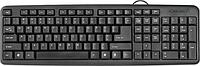 Клавиатура проводная Defender HB-420 RU,черный, полноразмерная