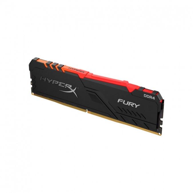 Память оперативная DDR4 Desktop HyperX Fury HX430C15FB3A/8, 8GB, RGB