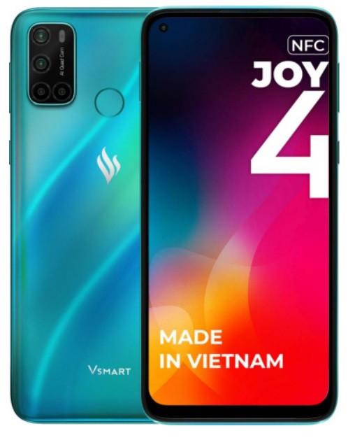 Смартфон Vsmart Joy 4 4/64GB бирюзовый