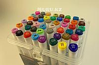 Набор маркеры Xuetong профессиональные для скетчинга / рисования фломастеры 48 цветов двусторонние