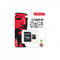 Карта памяти MicroSD 256GB Class 10 U1 Kingston SDCS/256GB