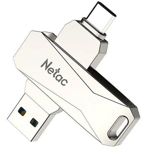 USB Флеш 128GB 3.0 Netac U782C/128GB Type-C металл