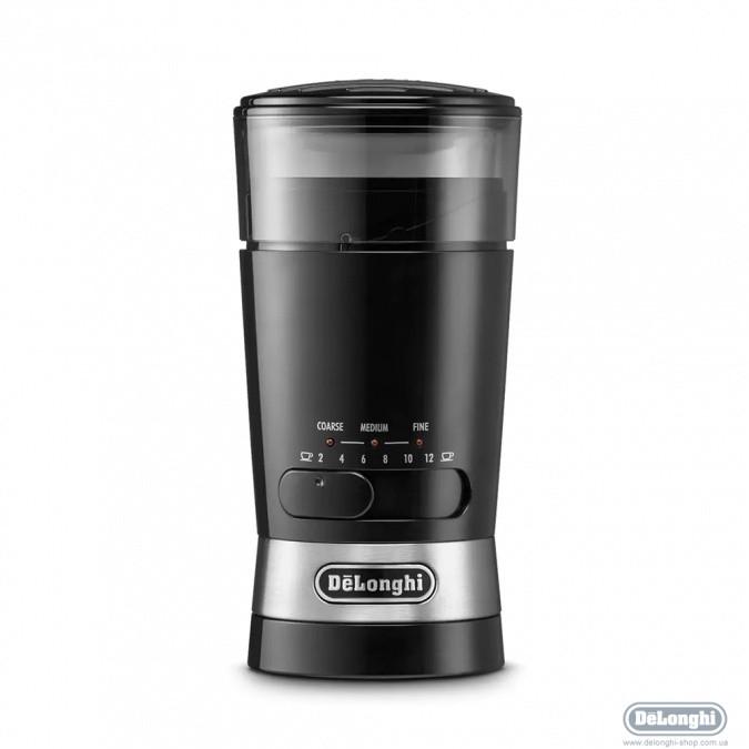 Кофемолка DeLonghi KG210 черный