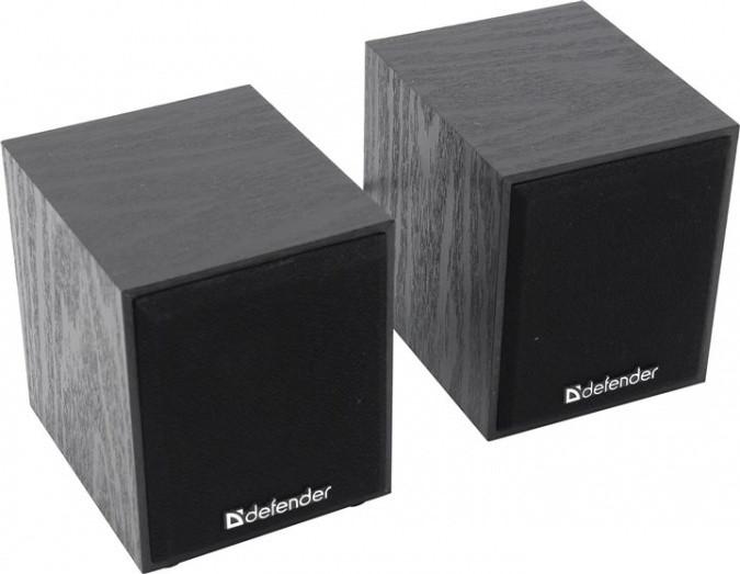 Компактная акустика 2.0 Defender SPK-230 черный