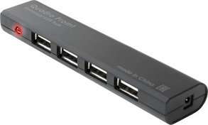 Разветвитель Defender Promt USB 2.0, 4 порта HUB