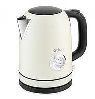 Электрический чайник Kitfort KT-683-3 бежевый
