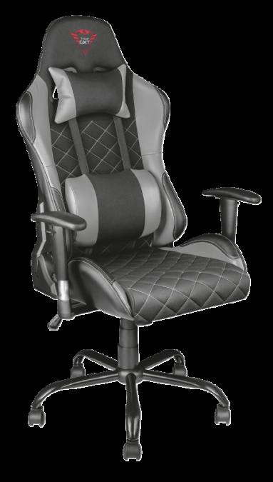 Игровое кресло Trust GXT 707G Resto серый