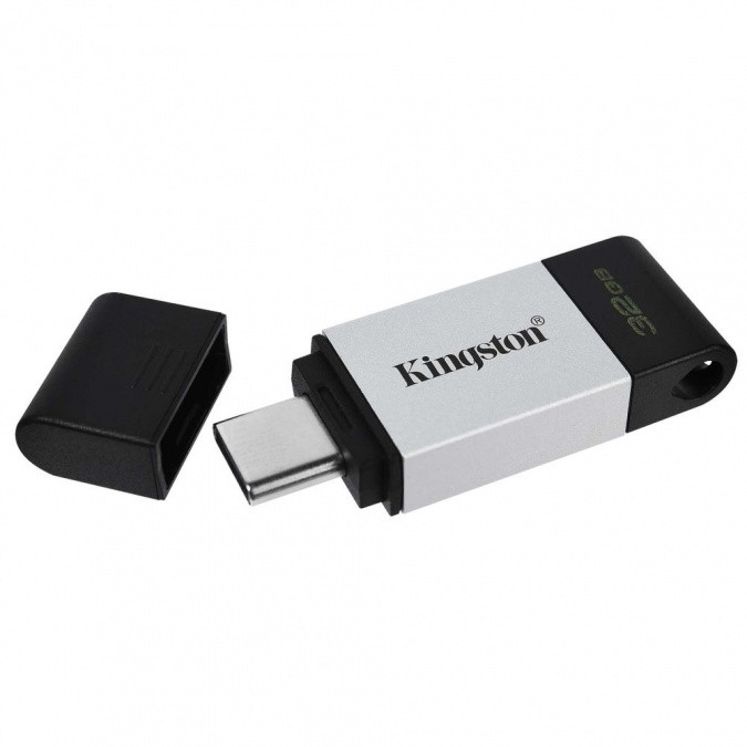 USB Флеш 64GB 3.0 Kingston DT80/64GB металл