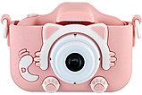 Детский цифровой фотоаппарат GSMIN Fun Camera Kitty со встроенной памятью и играми., фото 5